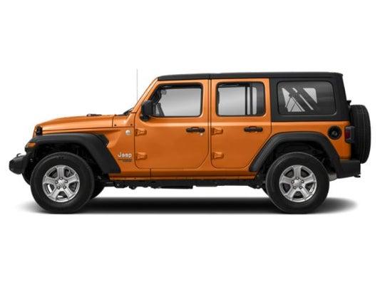 Green Jeep Wrangler >> 2018 Jeep Wrangler Unlimited Sport