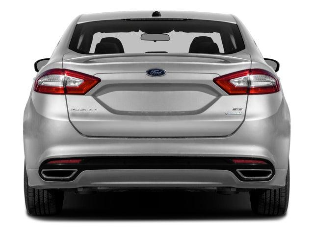 2016 Ford Fusion Se In Greensboro Nc Green Ford